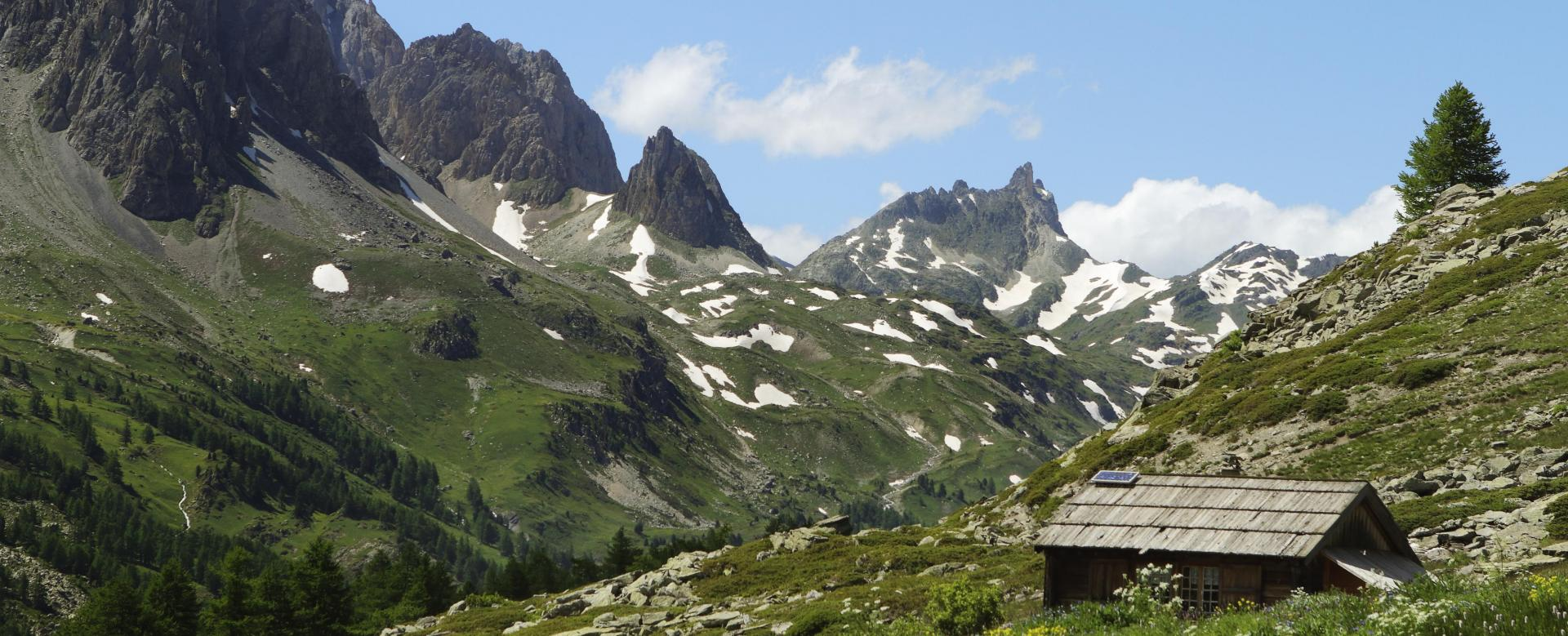 Voyage à pied : Haute clarée et mont thabor