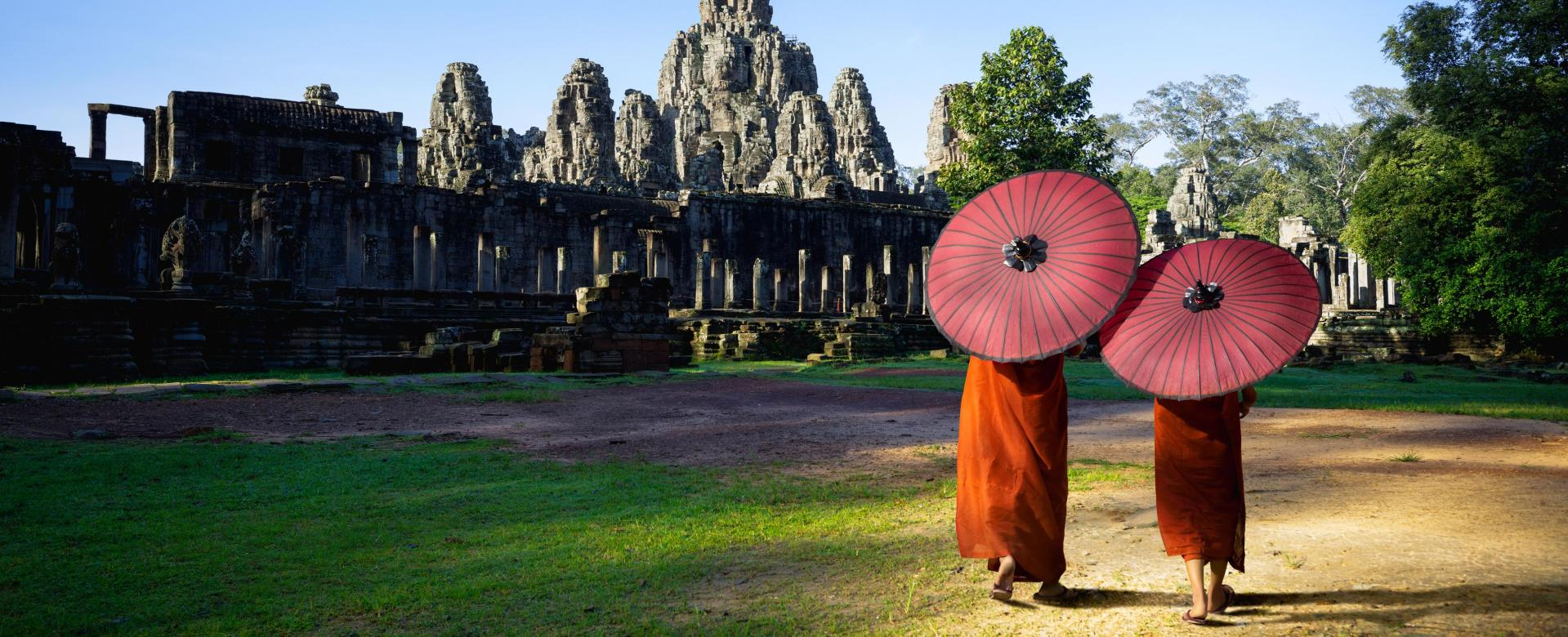 Voyage à pied Cambodge : Angkor et fleuve mékong