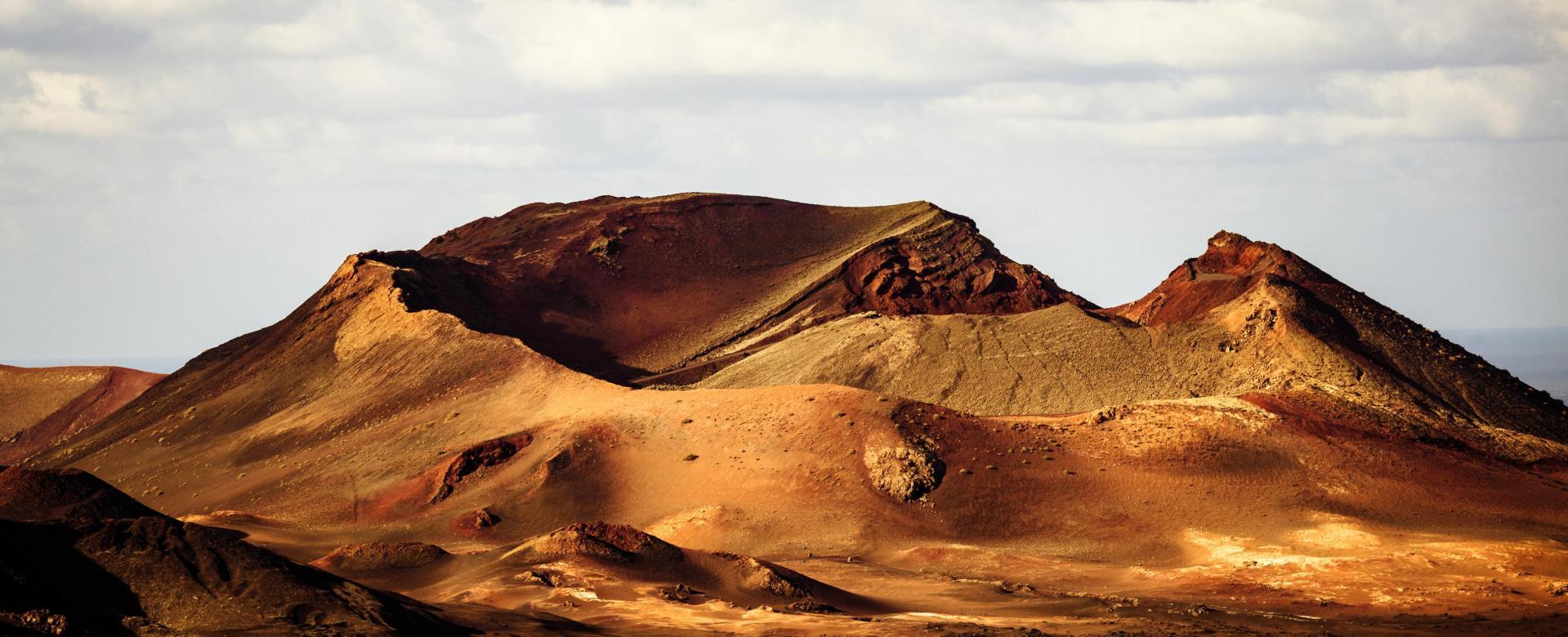 Voyage à pied : Lanzarote et la graciosa