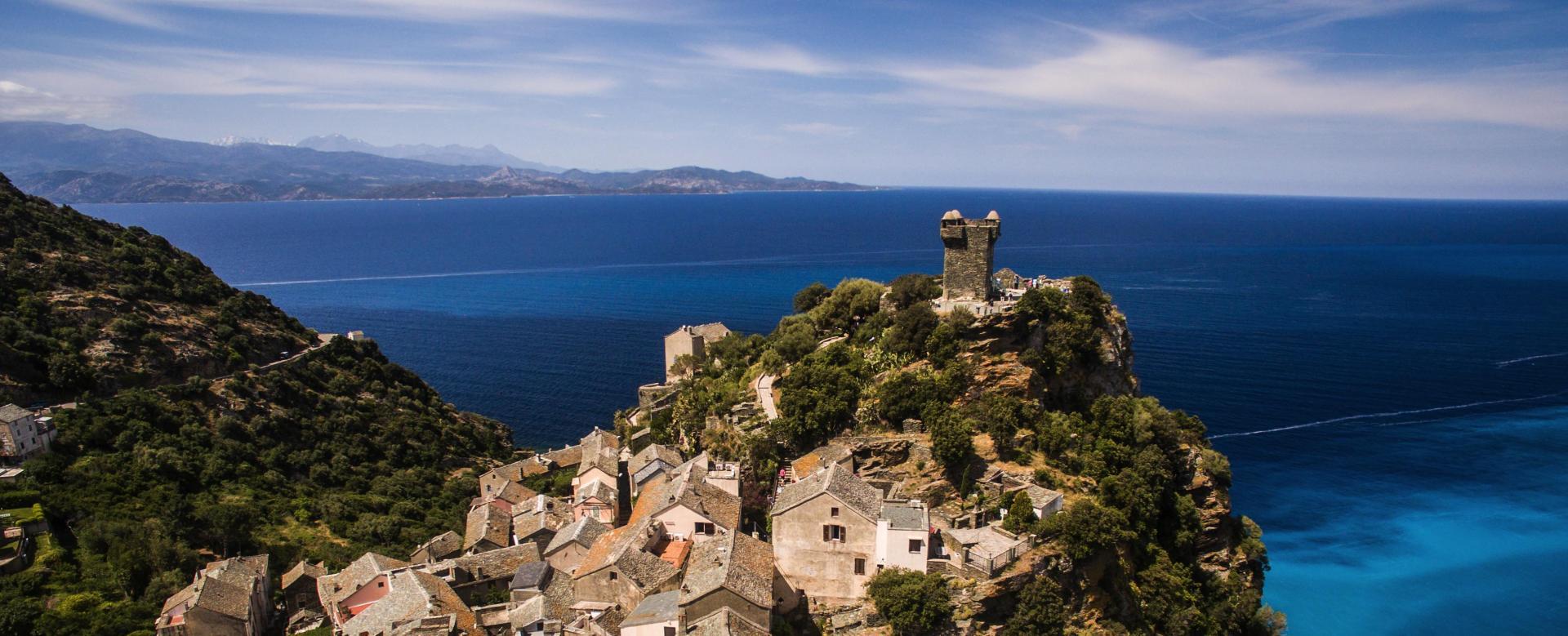Voyage à pied France : Le cap corse