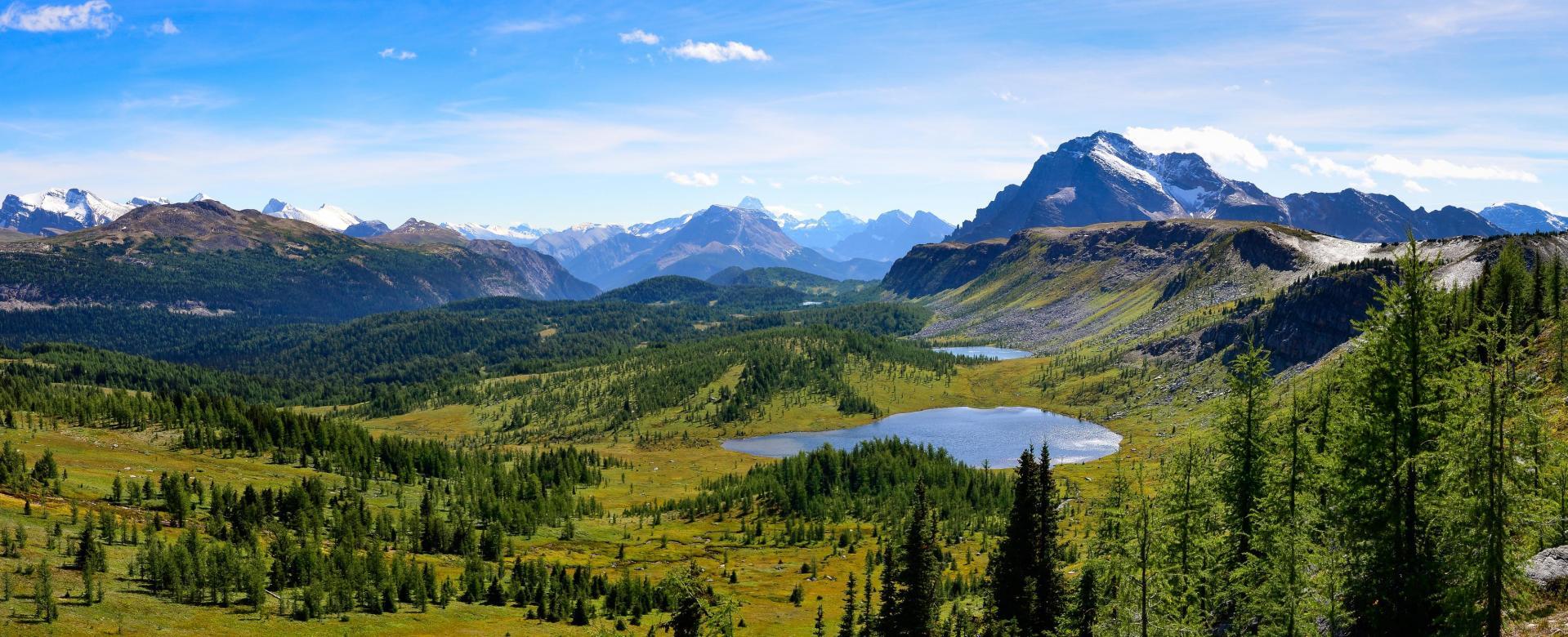 Voyage à pied Canada : Les rocheuses canadiennes