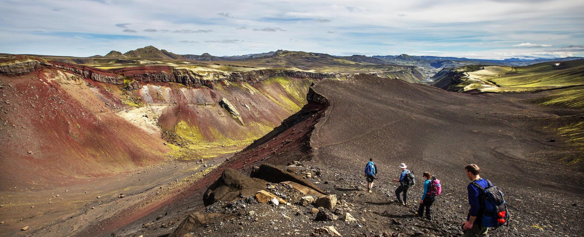 Voyage à pied : Islande inattendue