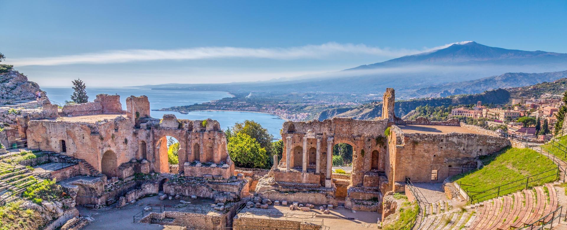 Voyage à pied : Randonnée sicilienne