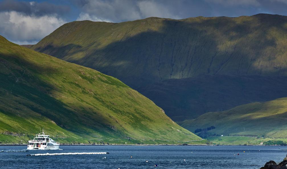Image Lacs et montagnes du connemara