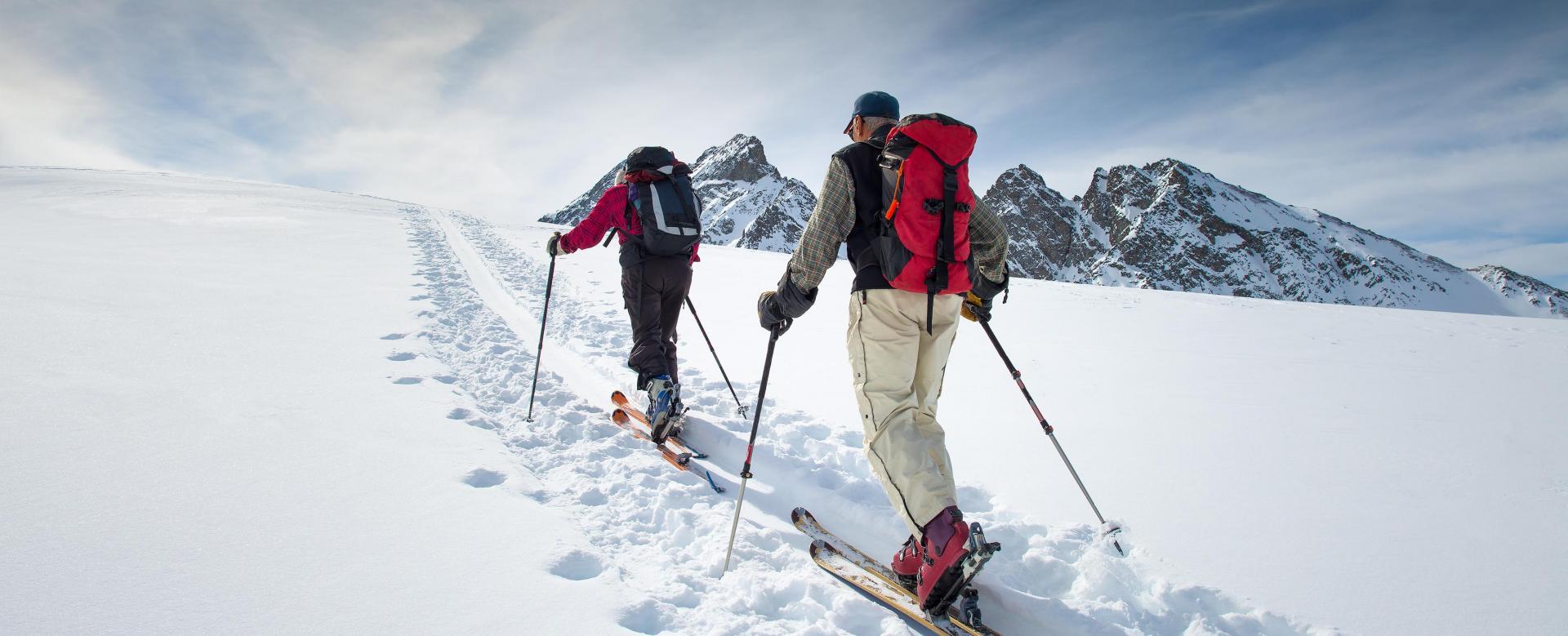 Voyage à la neige : Ski de rando autour du triglav