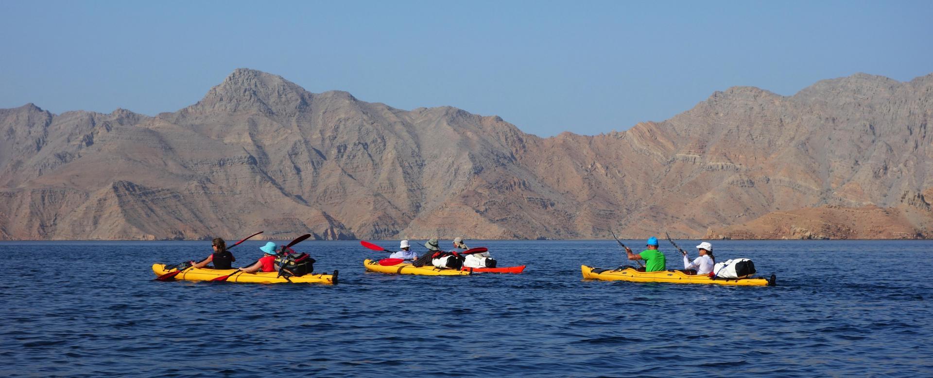 Voyage à pied : Trek et kayak au musandam