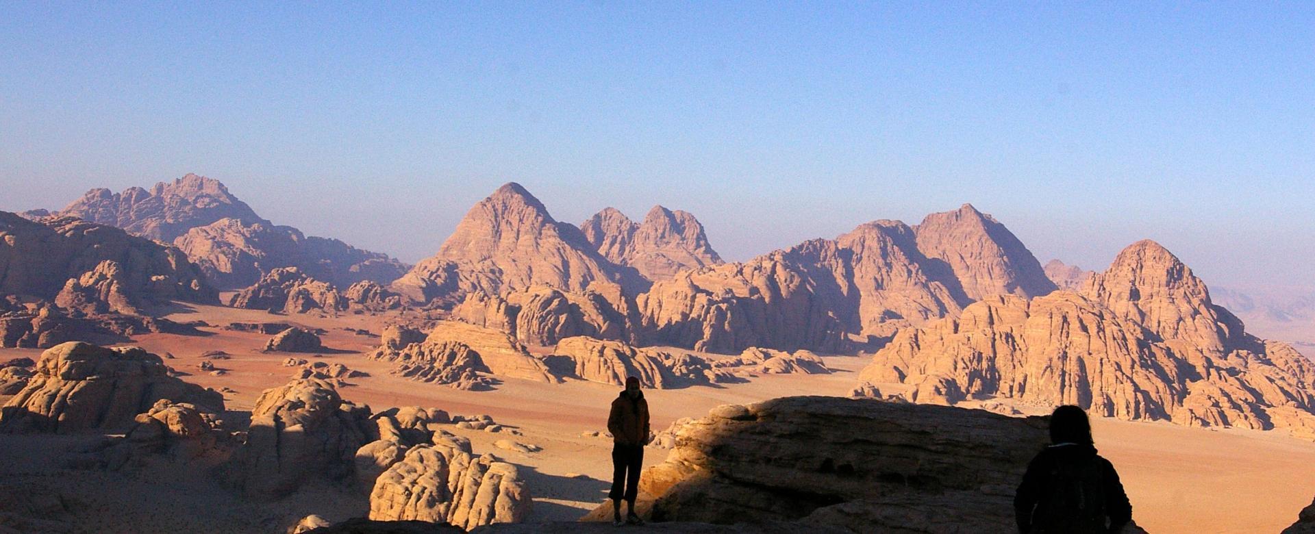 Voyage à pied : Les pierres d'arabie