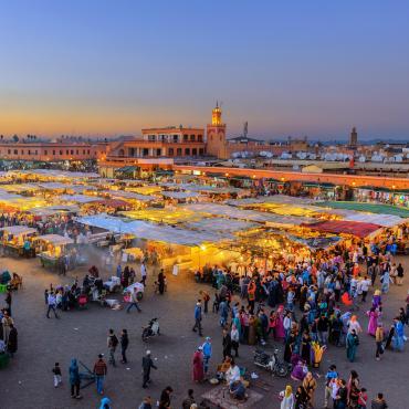 Le Maroc sur un plateau
