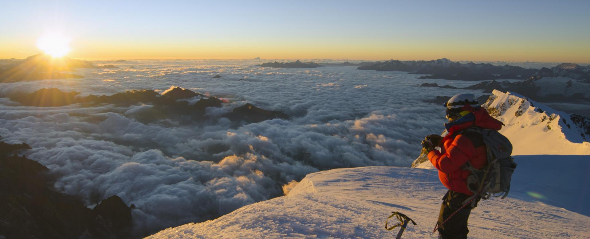 Voyage à pied : Grand-paradis - mont-blanc