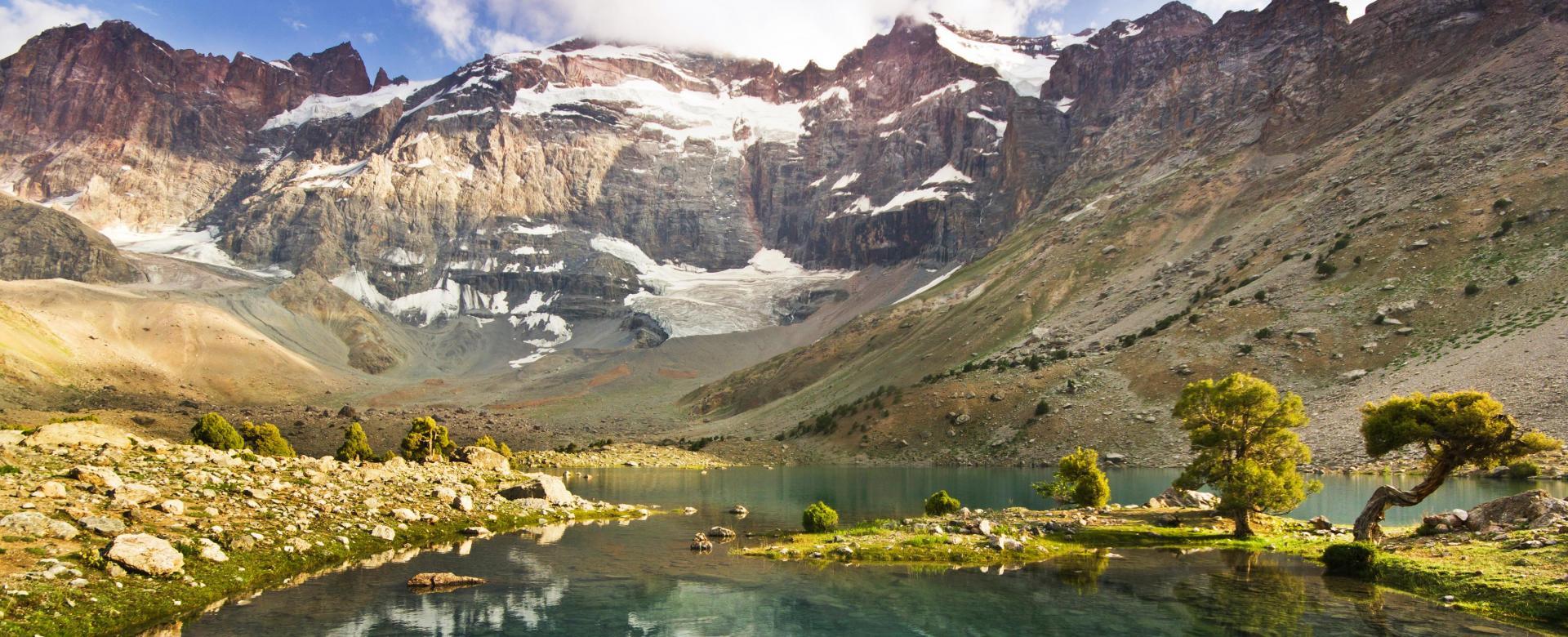 Voyage à pied : Monts fanskye, boukhara et samarcande