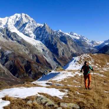 Tour du Mont-Blanc d'altitude en liberté
