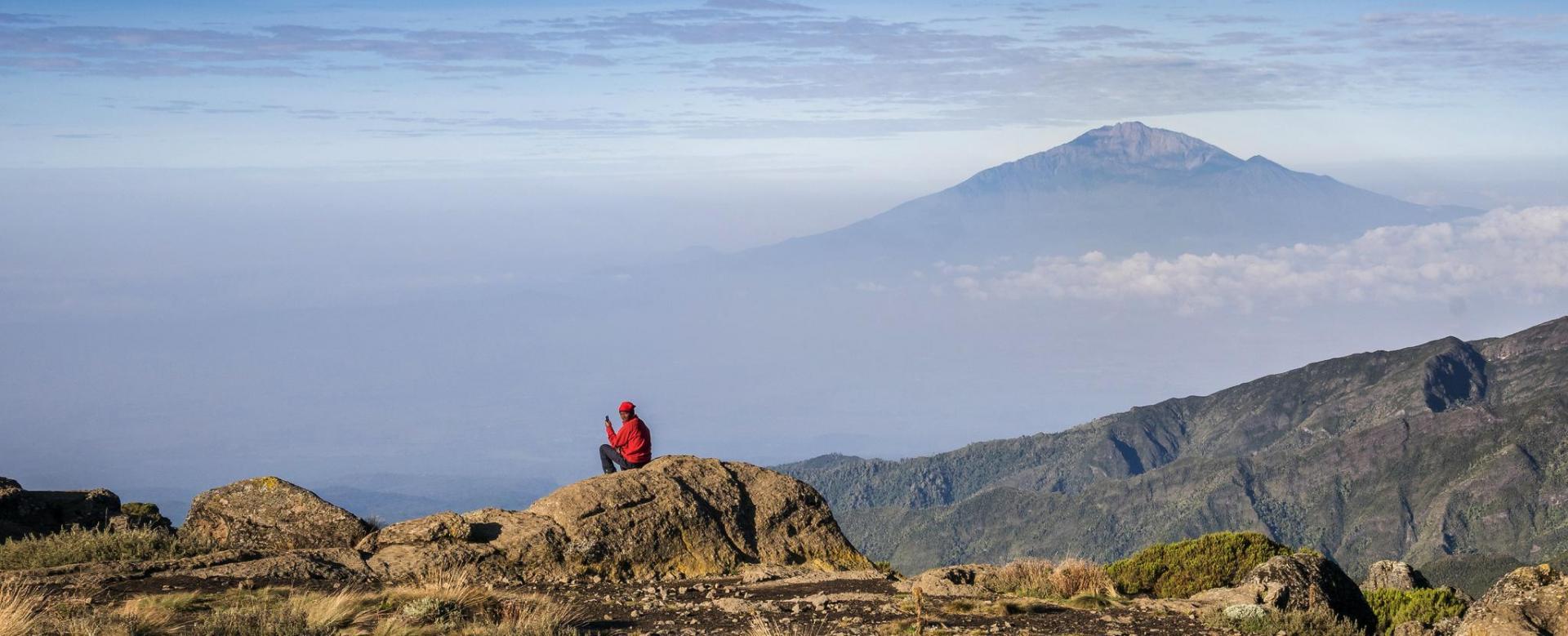 Voyage à pied Tanzanie : Du mont meru au kilimandjaro
