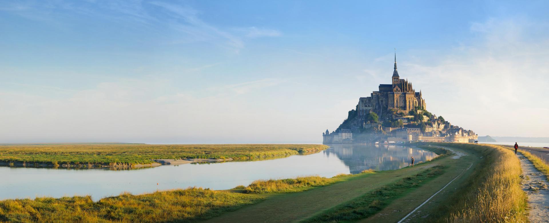 Voyage à pied : Normandie : Havres normands et mont-saint-michel