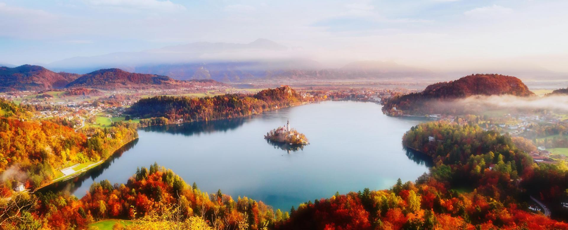 Voyage à pied : Slovénie : Des alpes juliennes à l\'adriatique