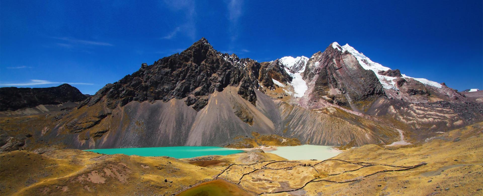 Voyage à pied : Pérou : Le tour de l'ausangate