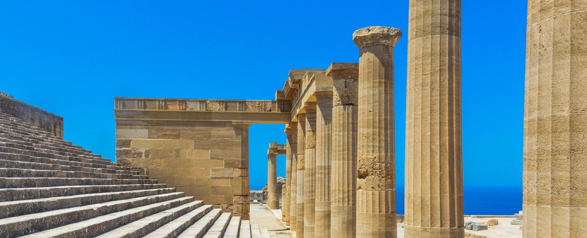 Voyage à pied : Grèce : Rhodes et l\'intégrale de karpathos