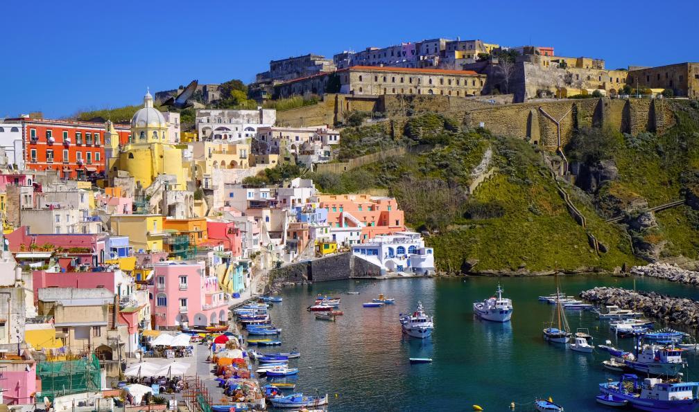 Image Naples, eoliennes et etna