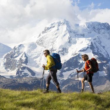 Sur les sentiers de Chamonix à Zermatt