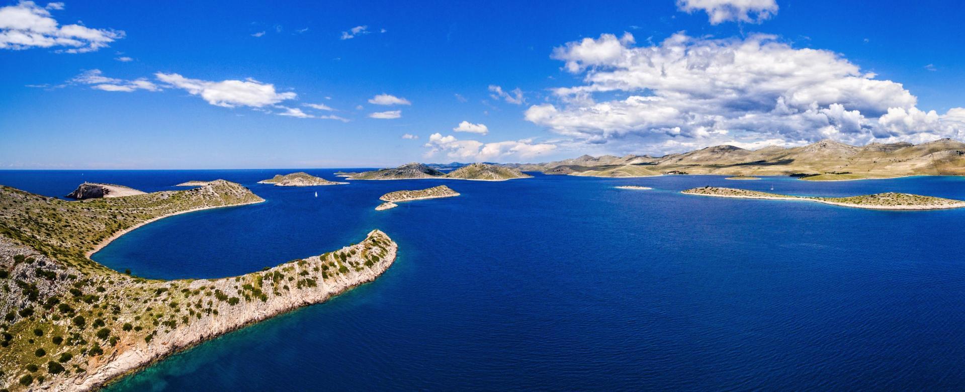 Voyage à pied Croatie : Des îles dalmates au monténégro