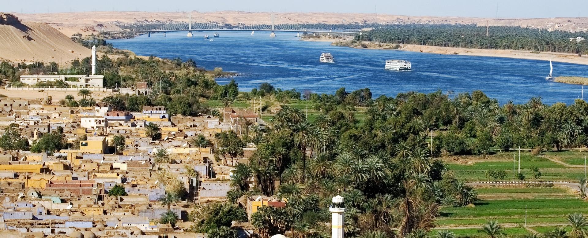 Voyage à pied : Egypte : La felouque du nil