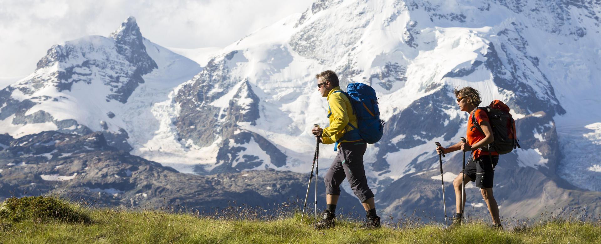 Voyage à pied France : Sur les sentiers de chamonix à zermatt