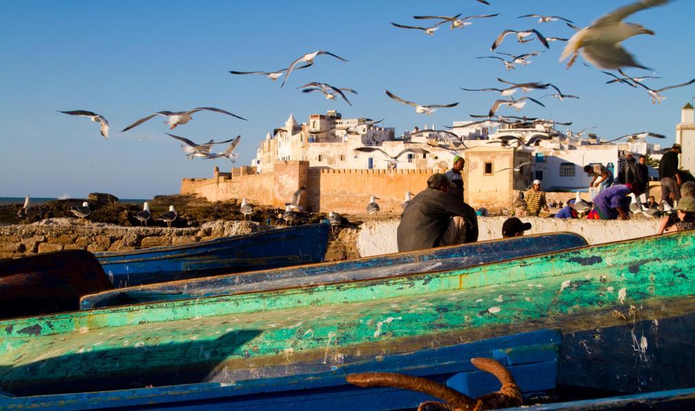 Image Villages berbères et océan