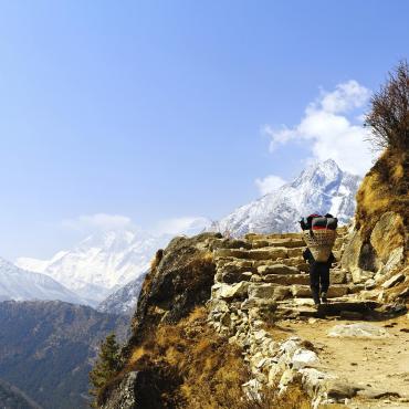 Trek au pied de l'Everest