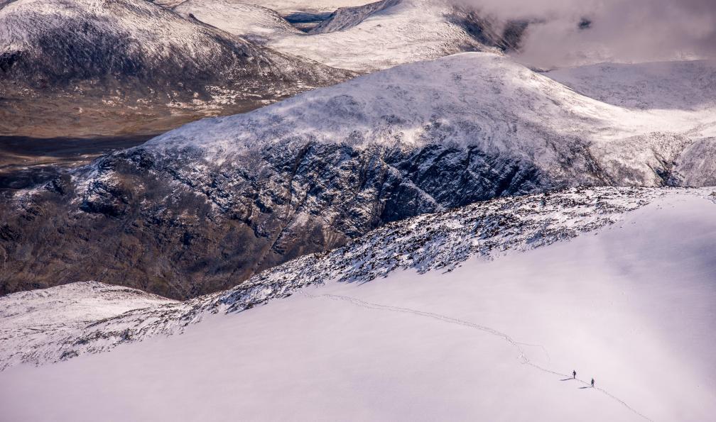 Image Haute route du jotunheimen à ski de randonnée