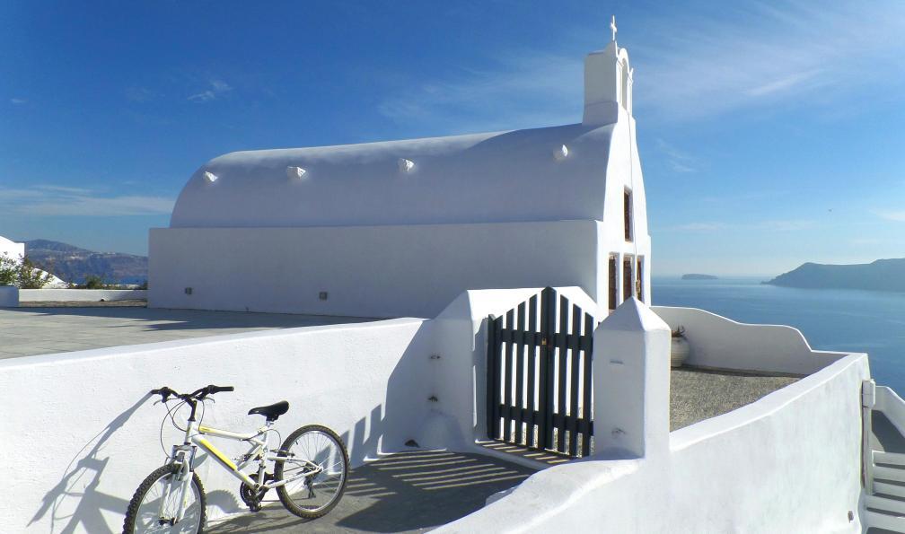 Image La crète, l'île des dieux à vélo