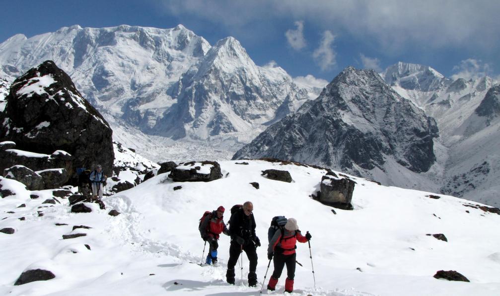 Image Trekking du kangchenjunga (8586 m)