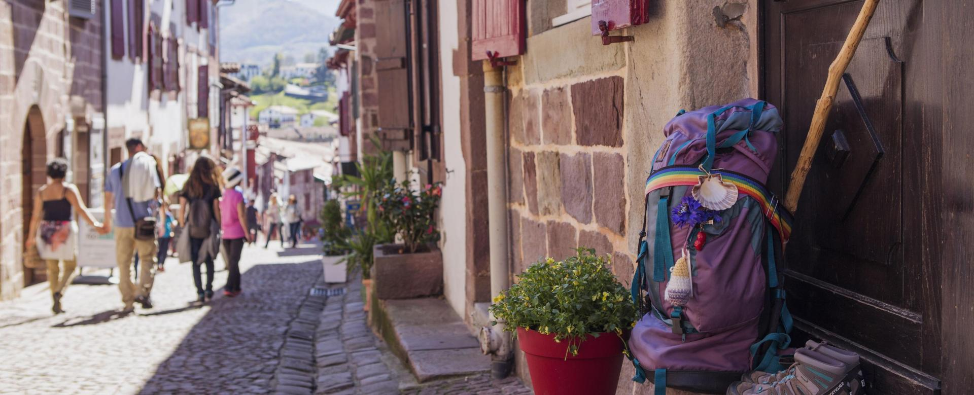 Voyage à pied : Compostelle : d'aire-sur-l'adour à saint-jean