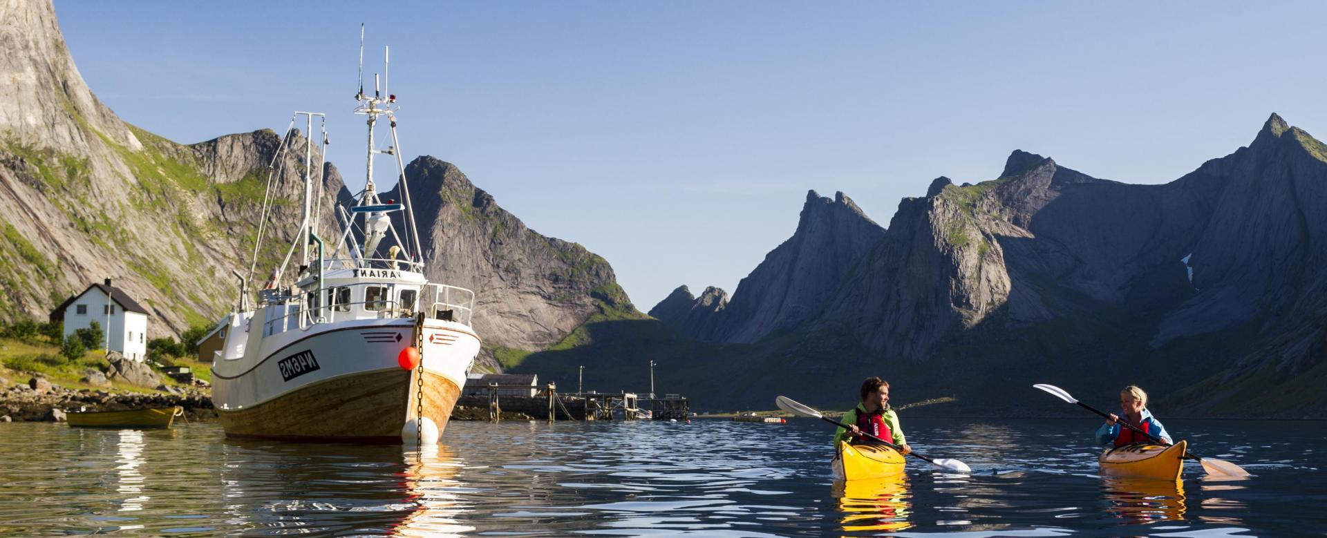 Voyage sur l'eau Norvège : Embarquement pour les fjords du nord