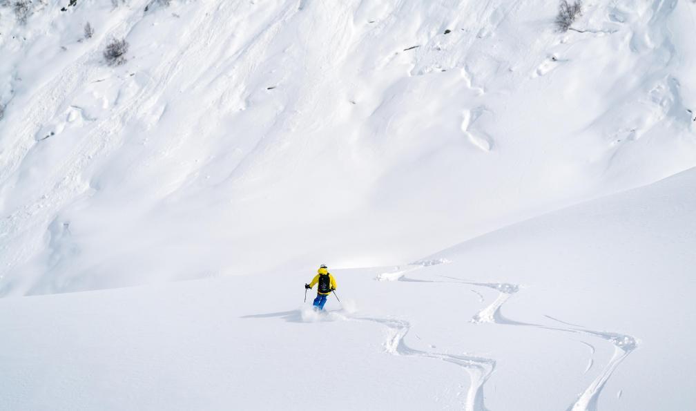 Image Svanétie, sommets du caucase à skis