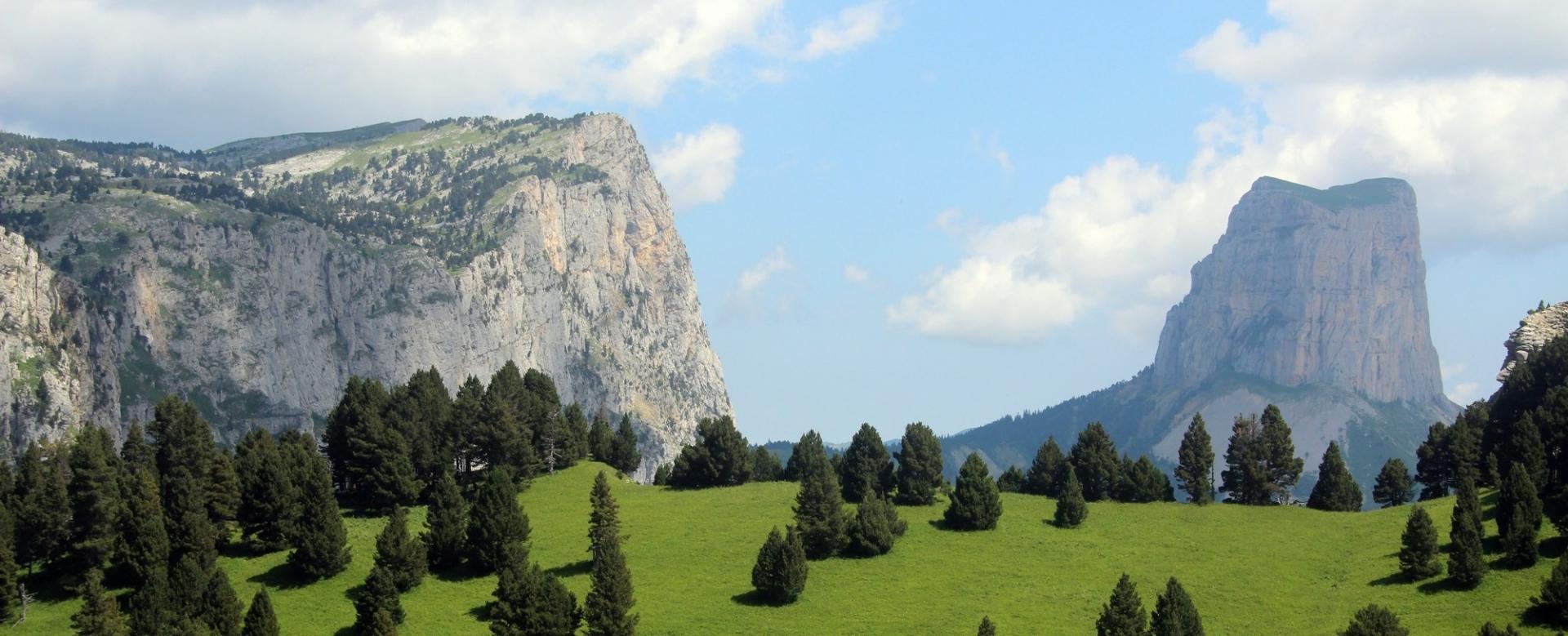 Voyage à pied : Alpes du Nord : Les plateaux secrets du vercors