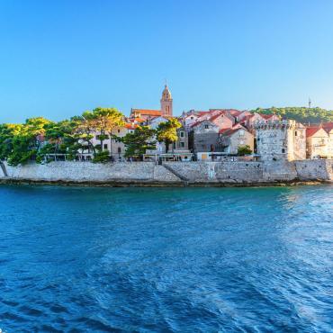 Les îles croates de Split à Dubrovnik
