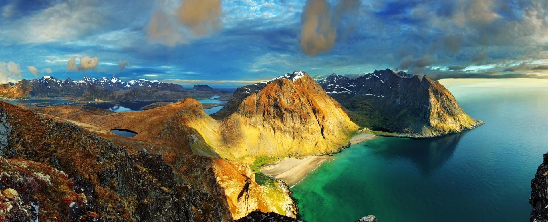 Voyage à pied Norvège : La grande traversée des îles lofoten