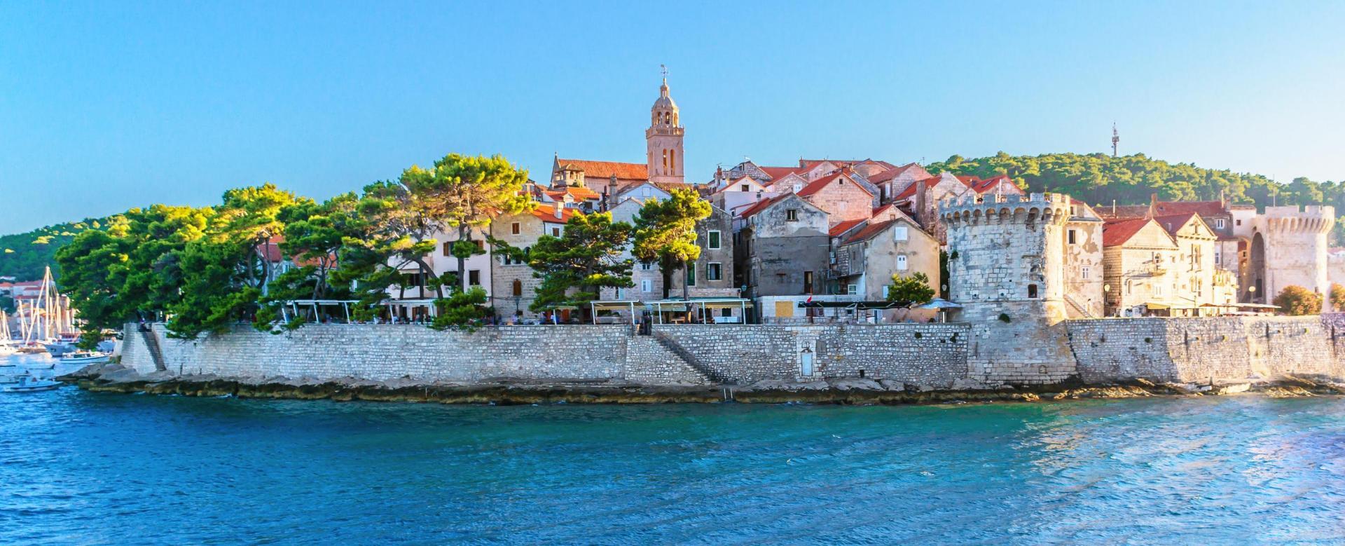Voyage à pied : Les îles croates de split à dubrovnik