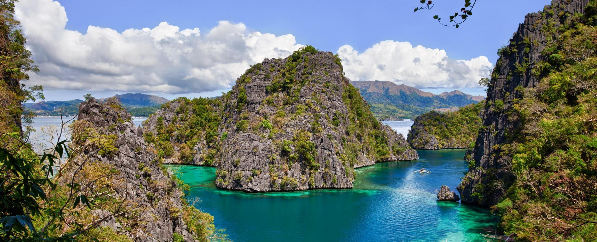 Voyage à pied Philippines : Rizières de luzon et corail de busuanga