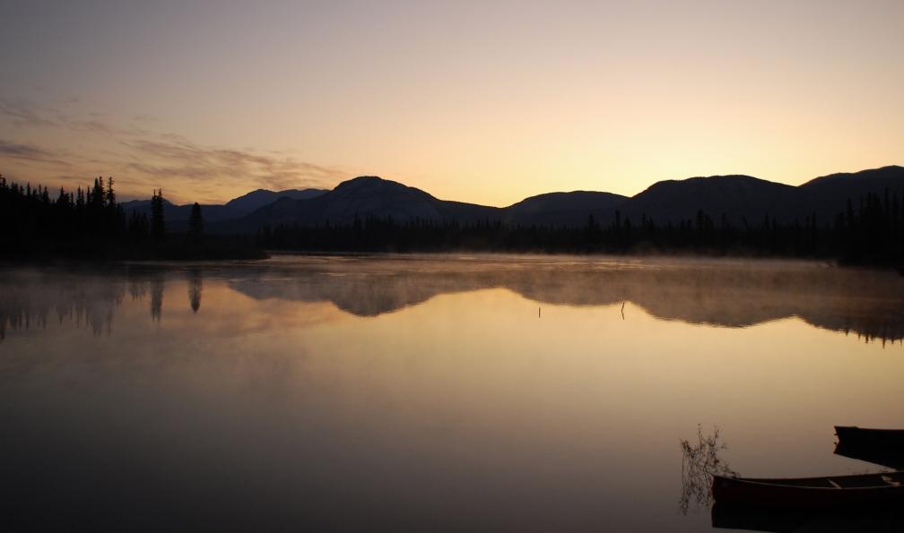 Image Canot sur la yukon river