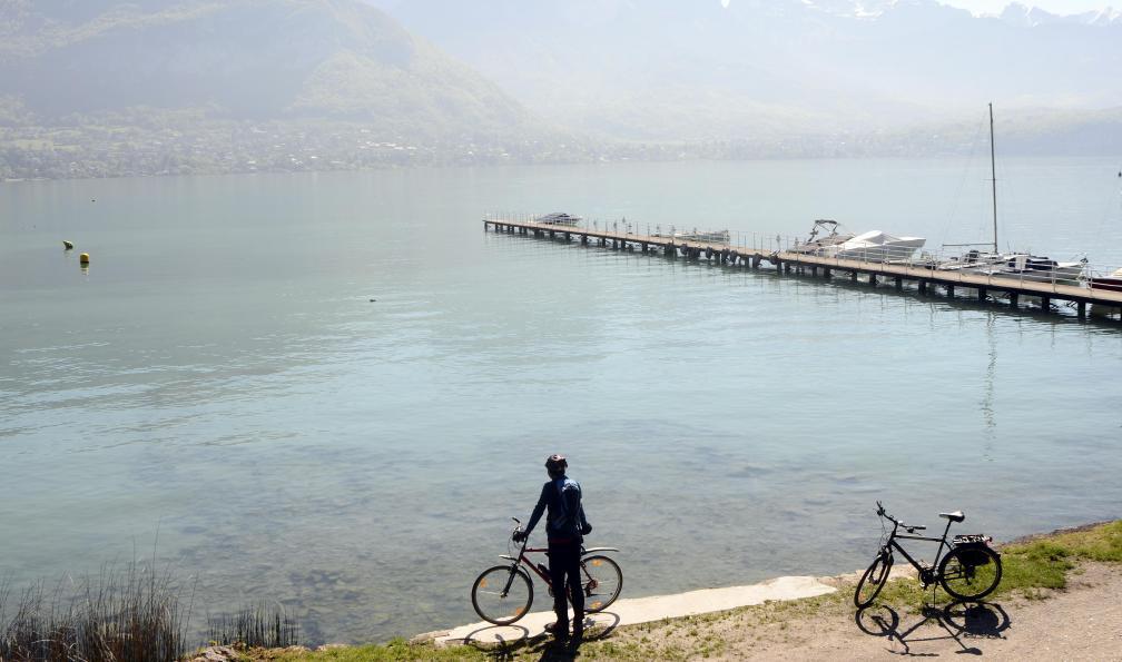 Lac D Annecy Et Lac Du Bourget A Velo Du Lac D Annecy Au Lac Du Bourget A Velo Velo France Allibert Trekking