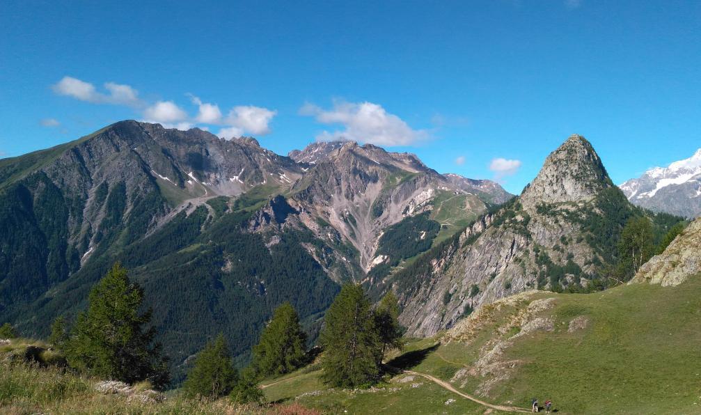 Image Le trail du mont-blanc avec julien chorier