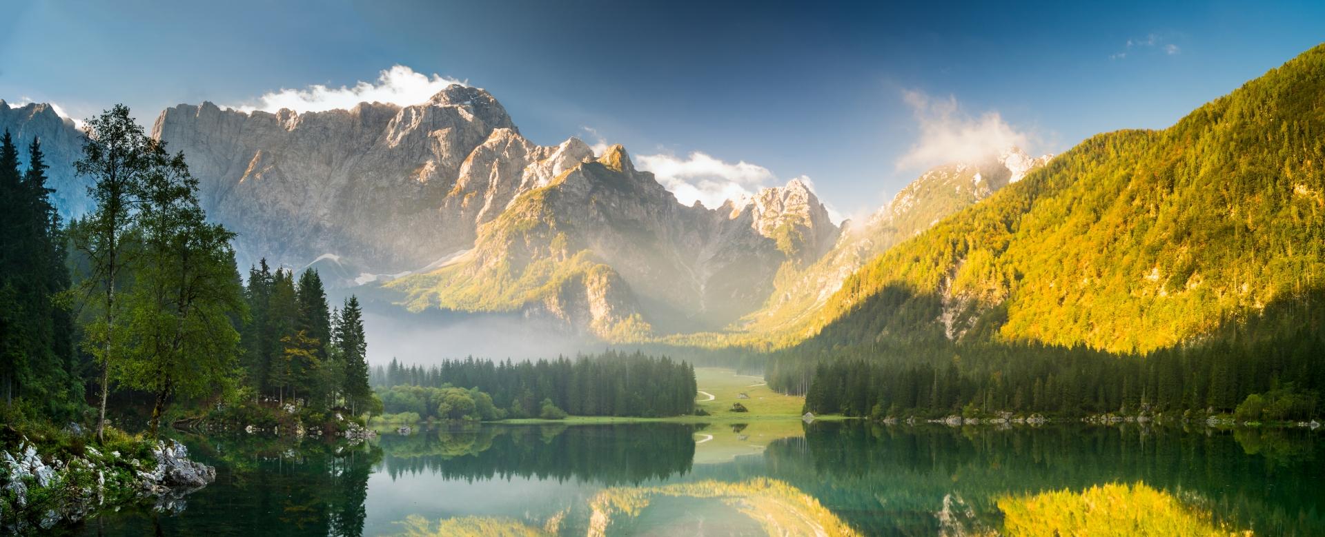 Voyage à pied : Le grand tour de slovénie