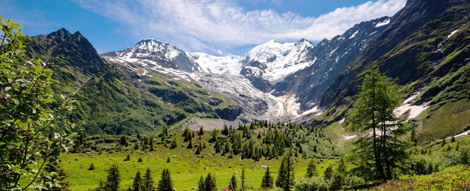 Voyage à pied France : Panoramas du pays du mont-blanc