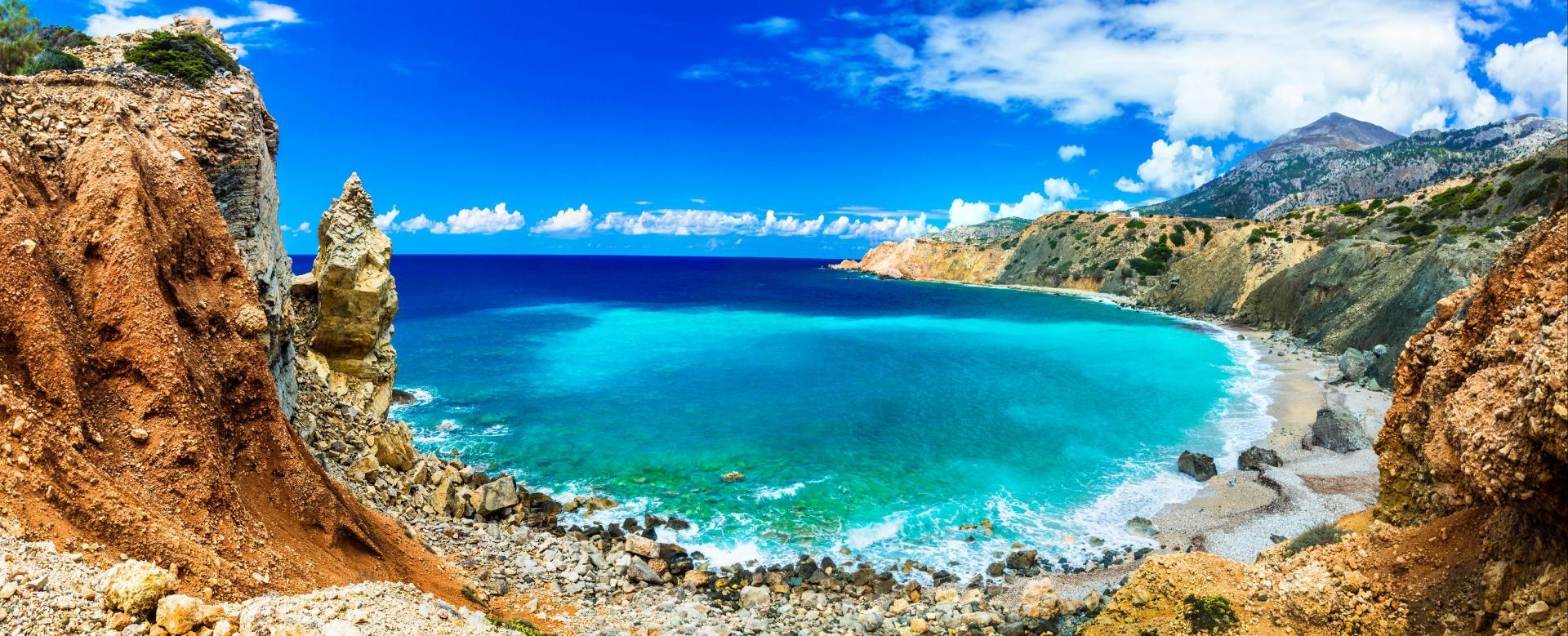 Voyage à pied : Karpathos, rhodes et symi