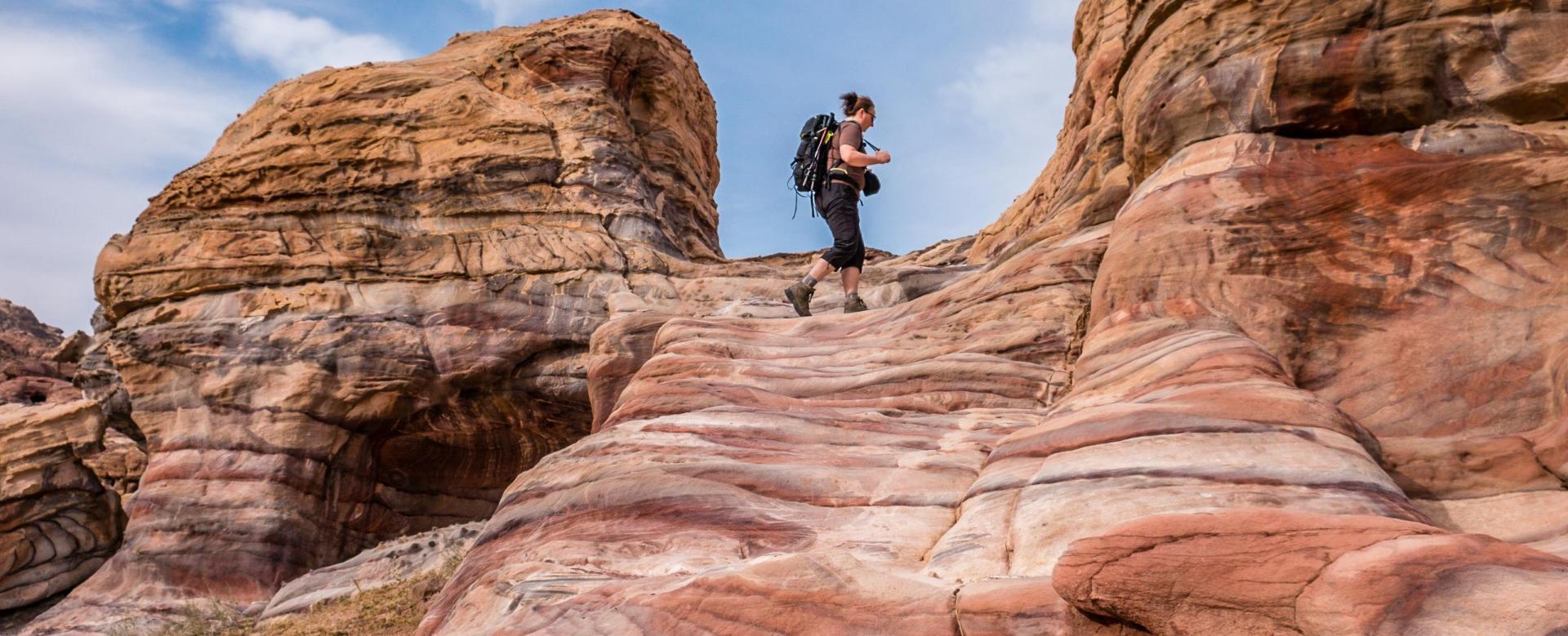 Voyage à pied : Jordanie : Le trek des nabatéens
