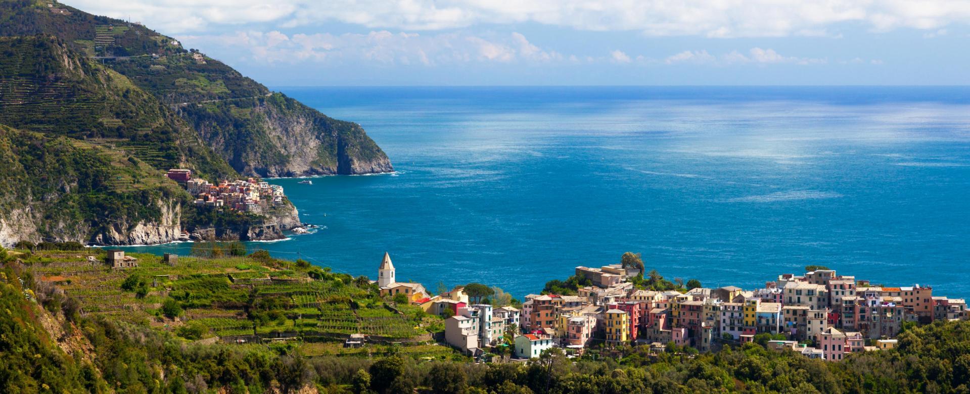 Voyage à pied Italie : Les cinque terre par les crêtes