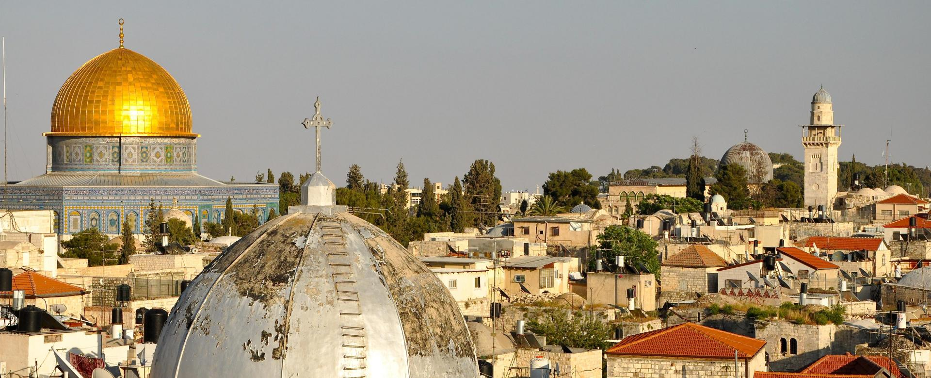 Voyage à pied : Terres saintes : de petra a jerusalem