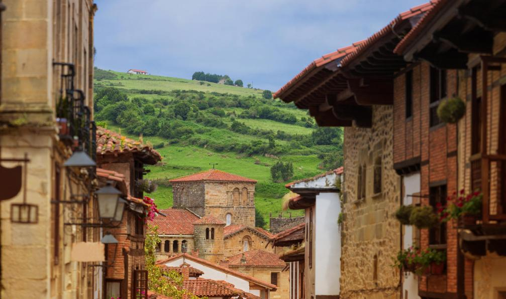 Image Compostelle : camino del norte santillana-oviedo