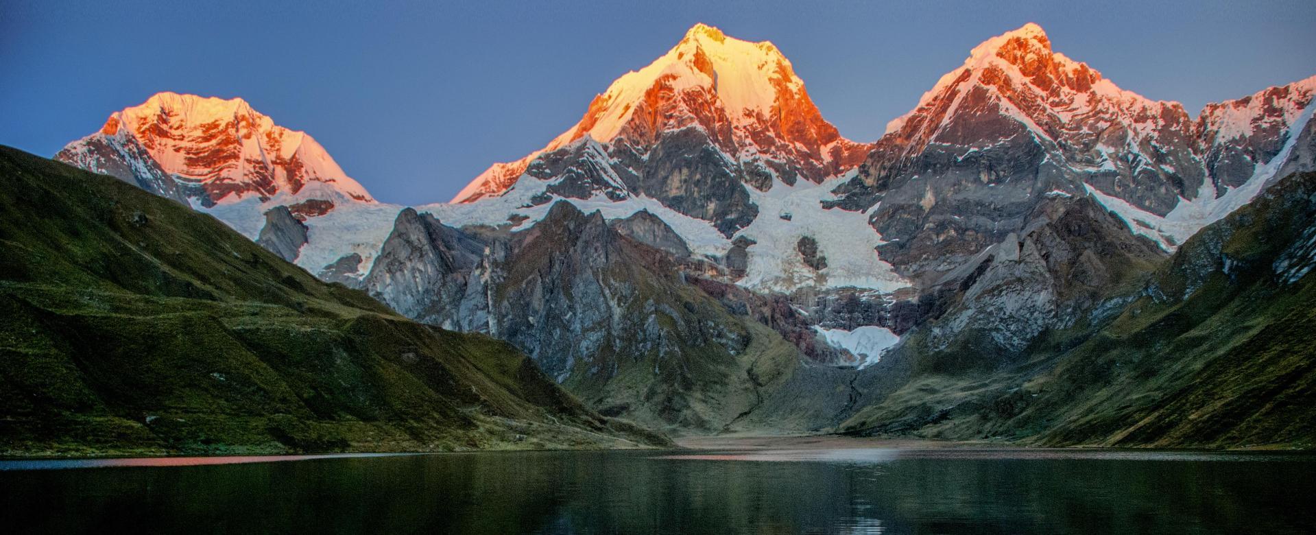 Voyage à pied : Pérou : Cordillères blanche et huayhuash