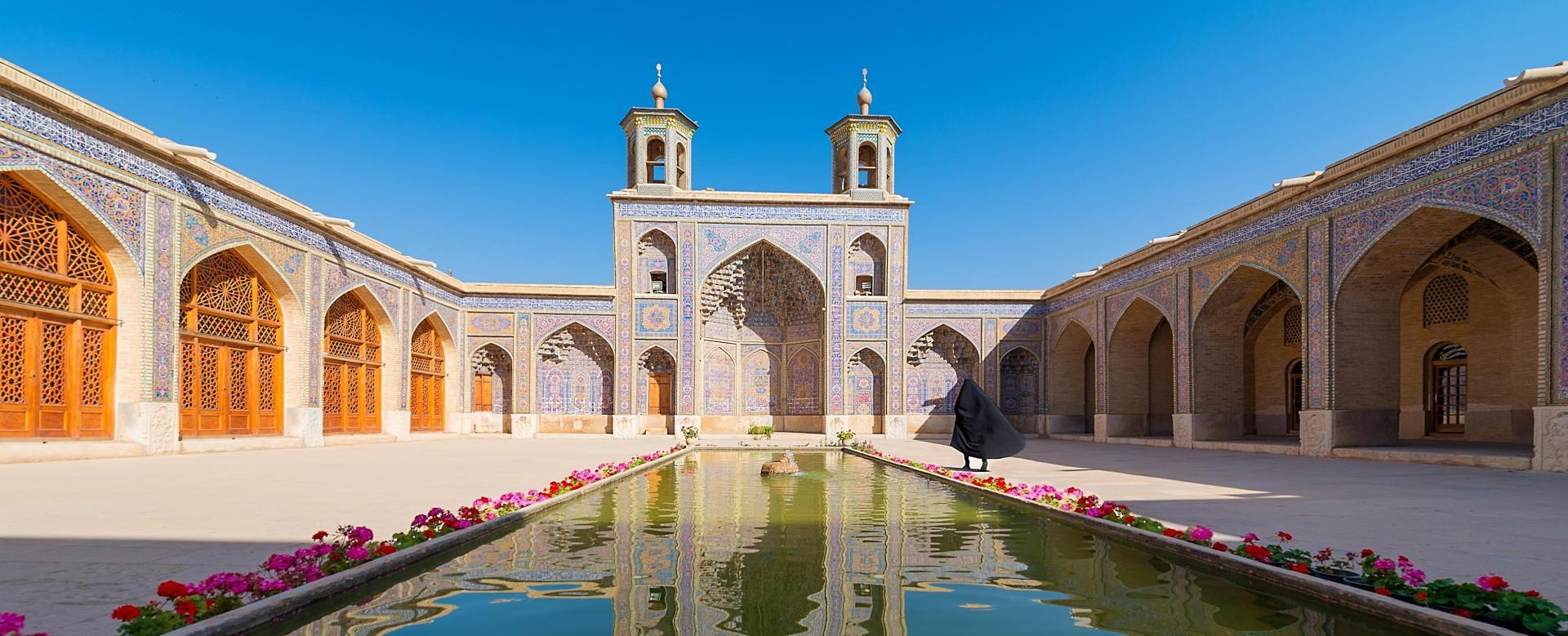 Voyage à pied : Regard persan